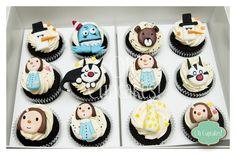 Cupcakes de Macanudo <3.. es comida, es arte, es literatura!! es hermoooooso!!