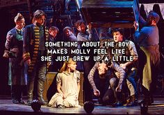"Peter and the Starcatcher ""It's supposed to hurt - that's how you know it meant something."""