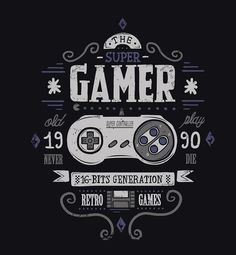 Gamer Designs - Created by David CanoAvailable for sale at his RedBubble Shop.