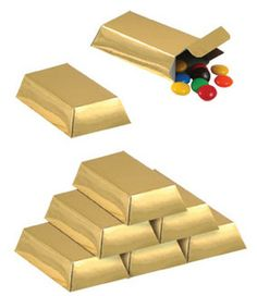 Decorate your party or give your guests a parting gift with these gold bar loot boxes. Complete the look of your party with our other Pirate Party range fromPerfect Party Supplies. Soirée James Bond, James Bond Party, Mine Craft Party, Mafia Party, Pirate Birthday, Pirate Theme, Pirate Party Favors, Anniversaire Cow-boy, Golden Birthday Parties