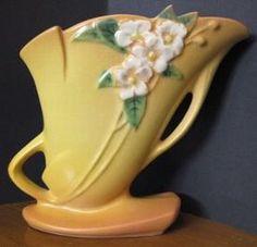 Roseville Pottery Mock Orange Vase