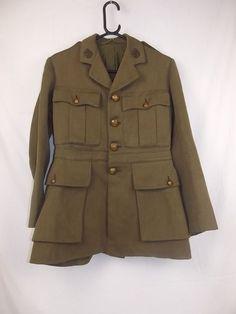 1917 Pattern Shoulder Rank British Tank Corps Major's Tunic