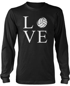 Love Volleyball The perfect t-shirt for any proud Volleyball player! Order yours today! Premium, Women's Fit & Long Sleeve T-Shirts Made from pre-shrunk cotton jersey. Heathered colors contain pa Volleyball Shirts, Volleyball Locker, Volleyball Clothes, Volleyball Ideas, Volleyball Training, Volleyball Drills, Beach Volleyball, Basketball, Over 50 Womens Fashion