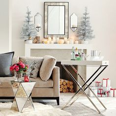 west elm holiday entertaining by AphroChic, via Flickr
