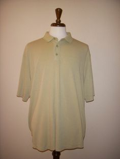 JAMAICA JAXX Green Modal Golf Polo SHIRT Men's XXL 2XL #JamaicaJaxx #PoloRugby