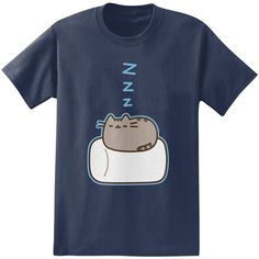 Big & Tall Pusheen Marshmallow Tee ($15) ❤ liked on Polyvore featuring men's fashion, men's clothing, men's shirts, men's t-shirts, blue, mens tall t shirts, big tall mens shirts, mens graphic t shirts, mens cat shirt and mens short sleeve t shirts