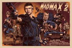 MAD MAX 2 Poster Art by Chris Weston