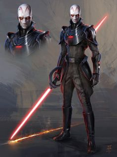 ArtStation - The Inquisitor (Rebels), MuYoung Kim sith Star Wars Sith, Star Wars Rpg, Star Wars Fan Art, Star Wars Rebels, Clone Wars, Star Wars Characters Pictures, Images Star Wars, Star Wars Pictures, Star Destroyer