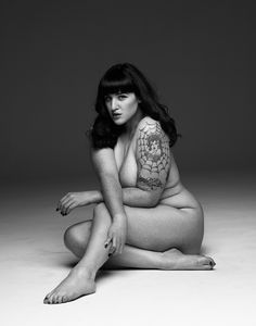 Curves to Kill...: Freckles and Ink - NSFW Model - Teer Wayde