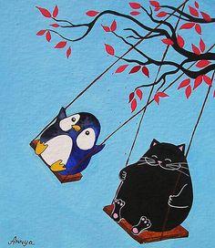 Swings by Annya Kai.