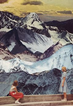 #mountains #collage http://bethhoeckel.com/COLLAGE/RANGES.jpg
