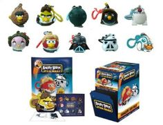 Amazon.com: Star Wars Angry Birds Complete Set of 10 Toy Figures: Toys & Games