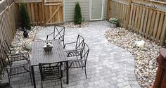 Rosedale is a random interlocking paver stone system with a distinctive textured surface to help you create landscapes of distinction through the combination of square and small rectangles. Rosedale's interlocking paver earth-tone colors help enhance the natural surroundings of your landscape.