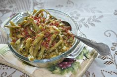 Delicious Green Beans   Amish Recipes Oasis
