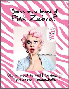 WHAT??!! You've never heard of Pink Zebra??   IF you THINK you have a favorite candle company, I CHALLENGE you to try the Sprinkles, Soaps, Lotions , Reed diffusers just once. I was a die hard user of another company for years and swore I'd never use another...boy was I wrong. See why I Sprinkle My Candles  sprinklemycandles@gmail.com http://www.facebook.com/sprinklemycandles #pinkzebrasprinkles #pinkzebra