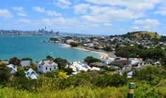 The harbour view from North Head, Auckland New Zealand. Explore the historic reserve and take in some breath taking scenery. Auckland New Zealand, Harbor View, Take A Breath, Beautiful Places, Scenery, River, Explore, Outdoor, Outdoors