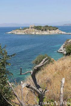 Het duiveneiland bij Kusadasi in Turkije.... wat een mooie vakantie !!