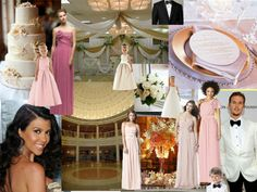 ivory gold, pale pink
