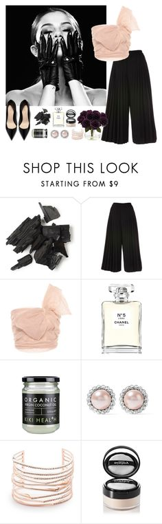 """RedVallentino"" by emelie-mely on Polyvore featuring RED Valentino, Chanel, Miu Miu, Alexis Bittar, Sisley and Nearly Natural"