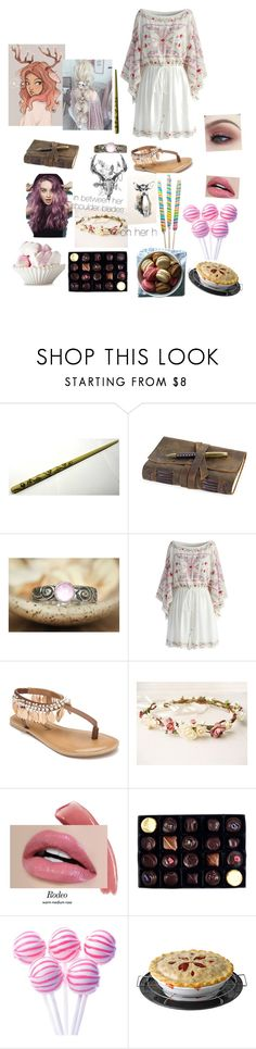 """trickster witch"" by randommorelikefandom on Polyvore featuring Chicwish, Penny Loves Kenny and Rococo Chocolates"