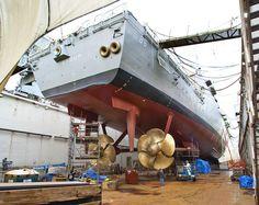 Navy Military, Army & Navy, Us Navy, Zombie Vehicle, Boat Propellers, Navy Ships, Water Crafts, Battleship, Warfare