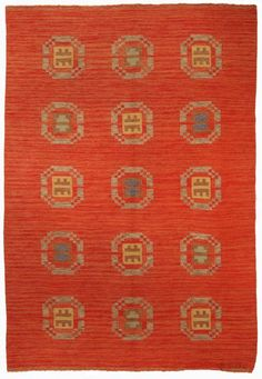A Swedish Flat Weave Carpet BB5171