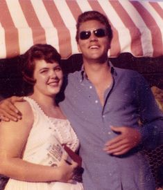 """Elvis Presley has signed a 1957 """"Photo Folio"""" for this female fan he met on location in Florida while shooting """"Follow That Dream,"""" which was filmed in Tallahassee, Florida and released in 1962."""