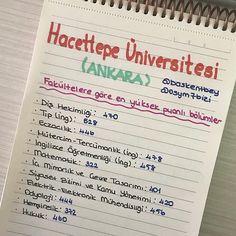 Bu tarz paylaşımlara devam edeceğiz. Sırada hangi üniversite olsun? . @baskentbey hesabında diğer üniversiteler ve bölümler hakkında bilgiler var. Takip etmeyi unutmayın 😊 . . #2018tayfa #yks #yks2018 #2019tayfa Doodles, Bullet Journal, Notes, Study, My Favorite Things, School, Tips, Free, Report Cards