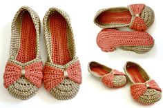 Formal Beautiful Crochet Shoe Example | Crochetz.com