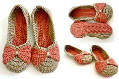 Formal Beautiful Crochet Shoe Example | Crochetz.com