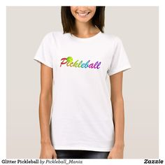 Glitter Pickleball T-Shirt