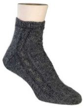 Chain Sock Pattern - FREE  Made from a single hank of alpaca fine yarn these are an extremely comfortable pair of socks.