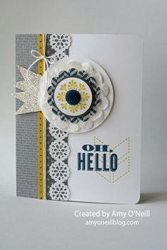 by Amy O'Neill,Amy's Paper Crafts.  Artisan Finalist