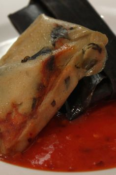 Tamales de Chipilin Chiapaneco.