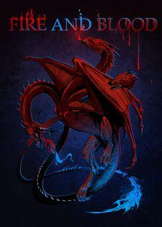 House Targaryen, Game of Thrones Game Of Thrones Sigils, Game Of Thrones Dragons, Got Dragons, Mother Of Dragons, Casas Game Of Thrones, Arte Game Of Thrones, Game Of Thrones Houses, Casa Targaryen, Daenerys Targaryen