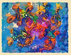 Digital Pastels - Digital Art Masterworks