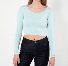 #American #apparel crop top,  View more on the LINK: 	http://www.zeppy.io/product/gb/2/252114049732/