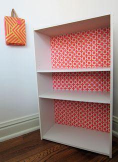 DIY Bookshelf Makeover
