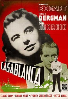 Directed by Michael Curtiz. With Humphrey Bogart, Ingrid Bergman, Paul Henreid, Claude Rains. A cynical American expatriate struggles to decide whether or not he should help his former lover and her fugitive husband escape French Morocco. Humphrey Bogart, Casablanca Movie, Casablanca 1942, Ingrid Bergman, Classic Movie Posters, Film Posters, King Kong, Bogart Movies, Paul Henreid