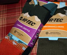 Hi-tec also offers shoes, boots and other footwear accessories and cleaners. When it comes time to buying the stocking stuffers, remember Hi-Tec socks sold online or at some retailers. The quality beats many brands and the comfort level is at the top.