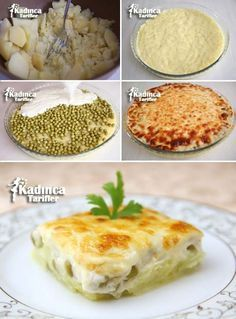 Beşamel Soslu Fırında Patates Tarifi potato al horno asadas fritas recetas diet diet plan diet recipes recipes Salsa Bechamel, Bechamel Sauce, East Dessert Recipes, Baked Potato Recipes, Oven Dishes, Recipe Sites, Turkish Recipes, Arabic Food, Iftar