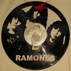 23,50 € Horloge vinyle décoration Ramones
