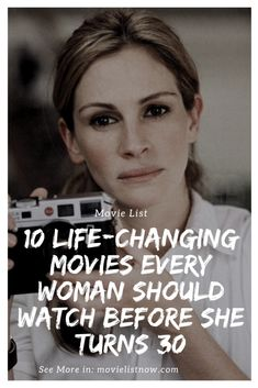 10 Life-Changing Movies Every Woman Should Watch Before She Turns 30 - Movie List Now - movies to watch list - Netflix Movies To Watch, Movie To Watch List, Good Movies To Watch, Movie List, I Origins, Light Film, Inspirational Movies, Movies Worth Watching, Life Changing