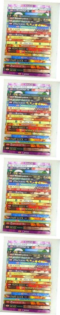 Incense 43405: Best Incense Stick Assorted Sampler 50 Packs X 8 Stick = 400 Sticks Bulk Lot -> BUY IT NOW ONLY: $41.63 on eBay!
