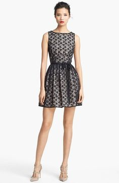 Zoe Hart Style - RED Valentino Macramé Lace Dress available at #Nordstrom