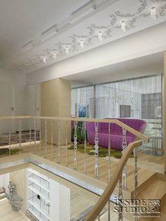 Интерьер загородного  дома  470 m2. Дизайн проект и реализация.   Архитектор Ирина Рихтер Decor, Furniture, Home, Loft, Loft Bed, Bed