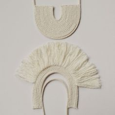 Woven rope necklace