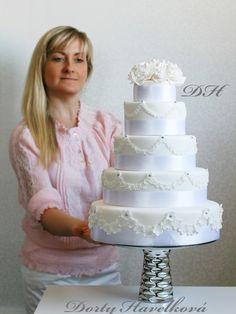 Luxury Wedding Cakes, Prague. http://www.czechcakes.com http://www.dortyhavelkova.cz http://www.dortyliberec.cz