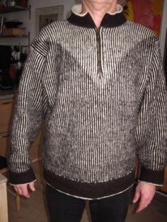 Ravelry: ByAnn's Sweater in Shadow Knitting