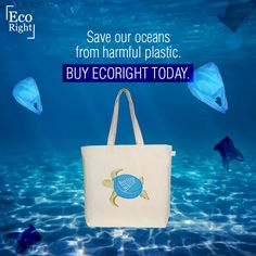 Over 100 million marine animals are killed each year due to plastic debris in the ocean. Turtles suffer the most because they confuse plastic with jellyfish. Our planet's marine life deserves to thrive. Let's get rid of plastic!